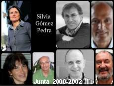 Fotografia junta directiva de AEBH de 2000 a 2002