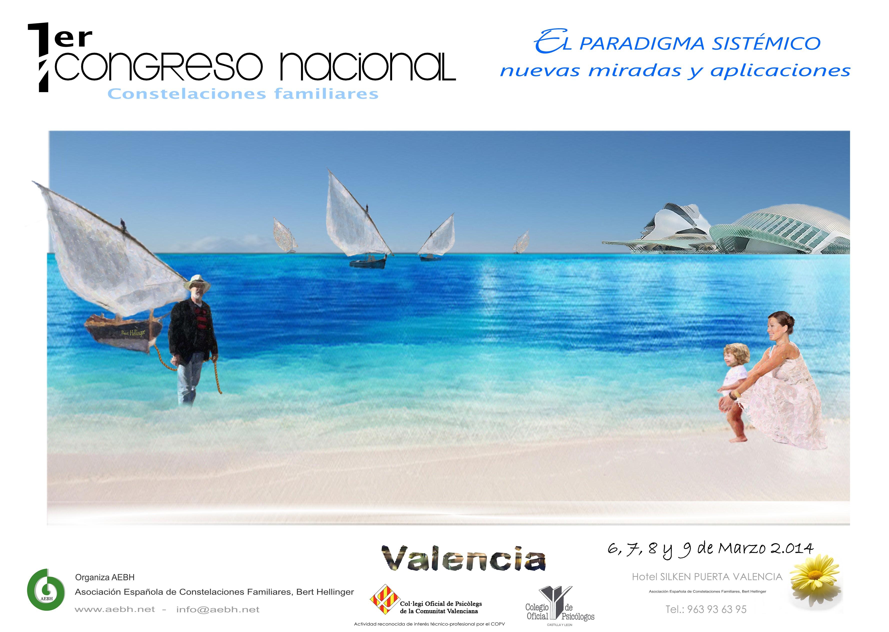 Cartel I Congreso Nacional Valencia
